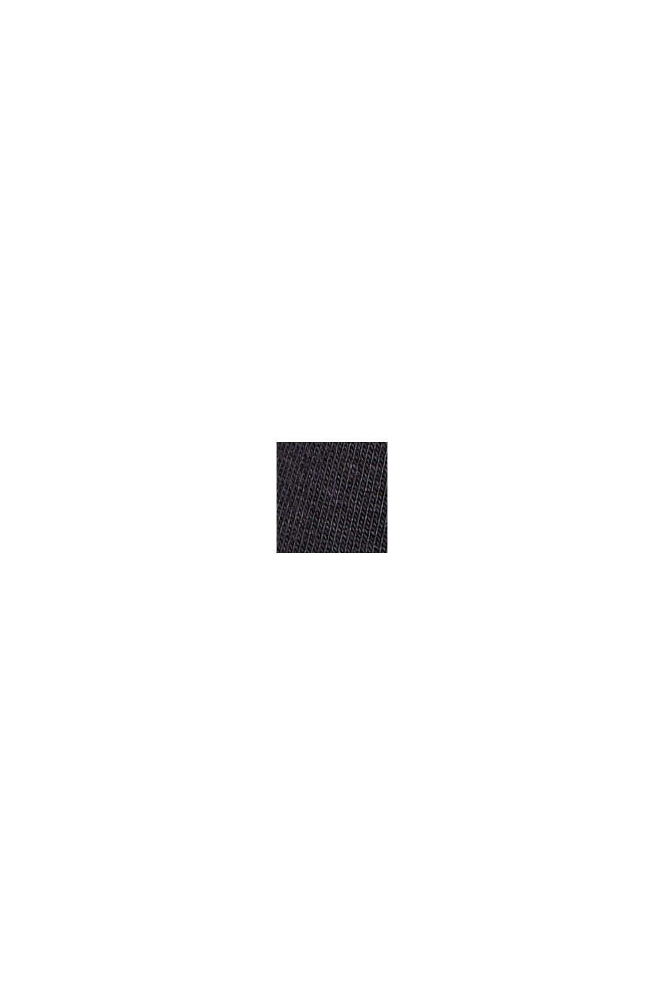 Minifalda de jersey, algodón ecológico, BLACK, swatch
