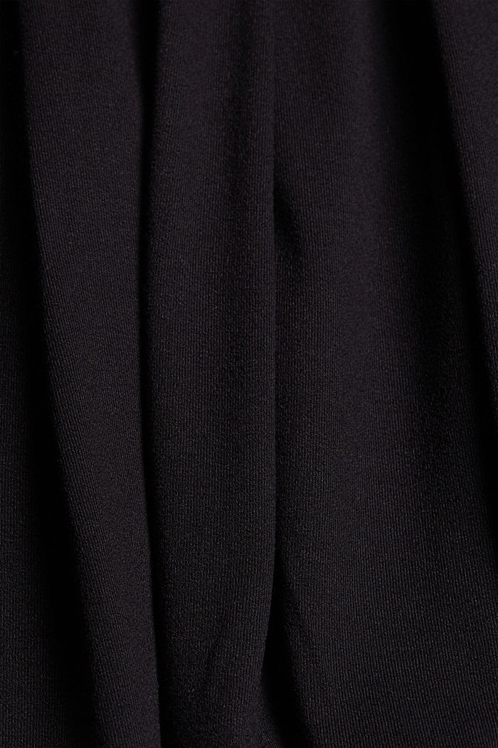 Jersey mini skirt, BLACK, detail image number 4