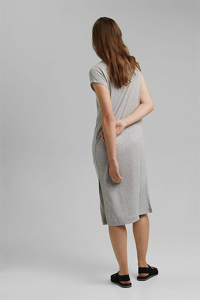 Jerseykleid aus TENCEL™ Lyocell, LIGHT GREY, detail image number 2
