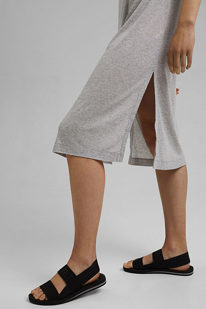 Jerseykleid aus TENCEL™ Lyocell, LIGHT GREY, detail image number 5