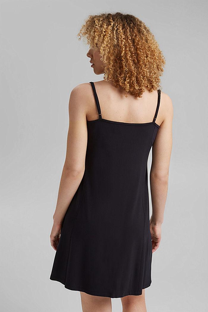 Jerseykleid mit Print, LENZING™ ECOVERO™, BLACK, detail image number 2