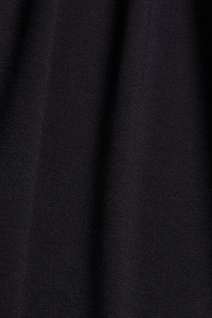 Jerseykleid mit Print, LENZING™ ECOVERO™, BLACK, detail image number 4
