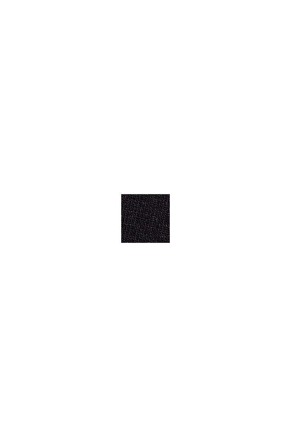 Jerseykleid mit Print, LENZING™ ECOVERO™, BLACK, swatch