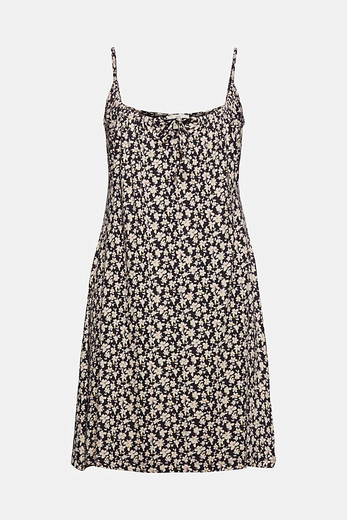 Jerseykleid mit Print, LENZING™ ECOVERO™, BLACK COLORWAY, detail image number 8