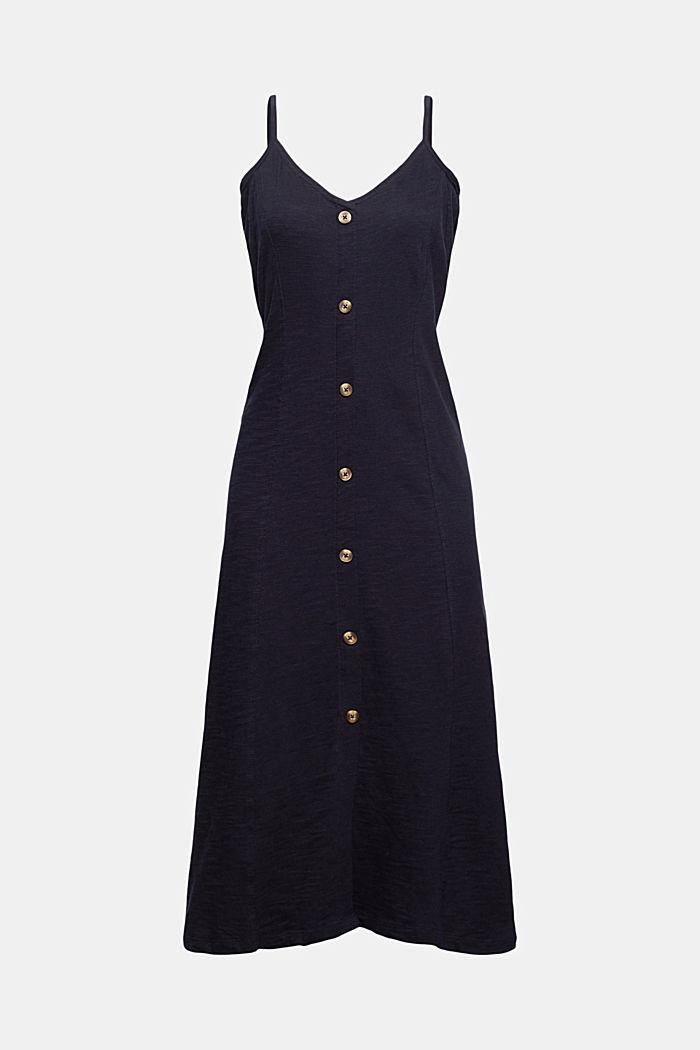 Jersey midi dress in 100% organic cotton
