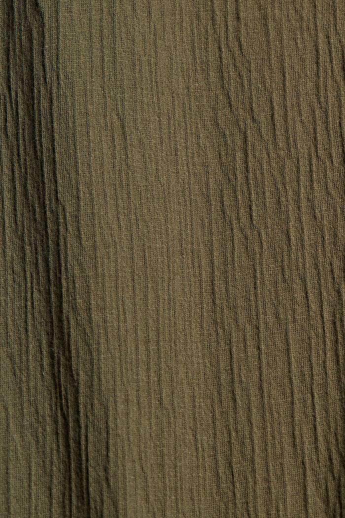 Dresses knitted, KHAKI GREEN, detail image number 4