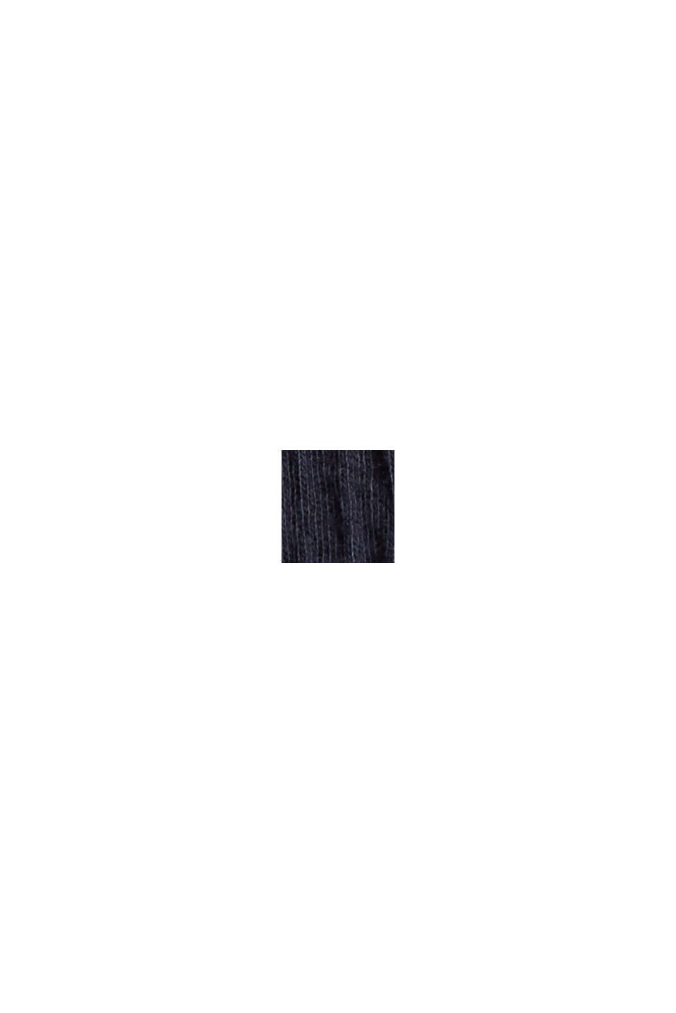 Jerseykleid aus Bio-Baumwoll-Mix, NAVY, swatch