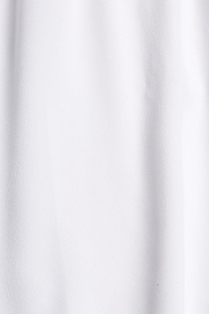Petite robe ornée de dentelle crochetée, WHITE, detail image number 4