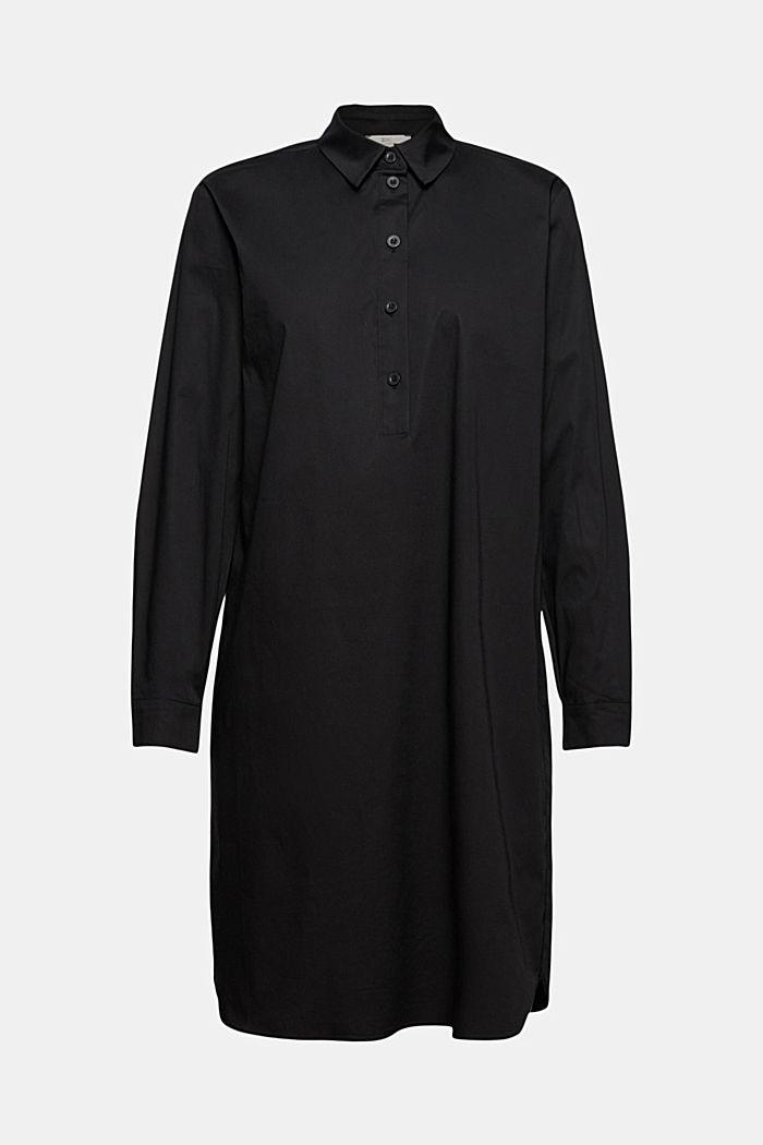 Short shirt dress made of organic cotton