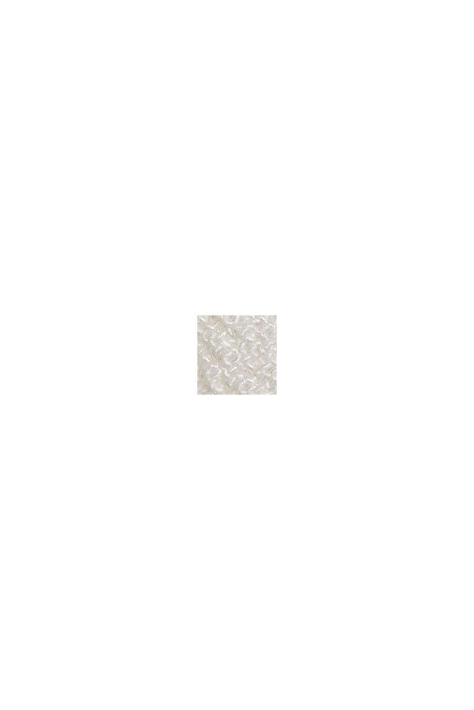 Top met kant van LENZING™ ECOVERO™, OFF WHITE, swatch