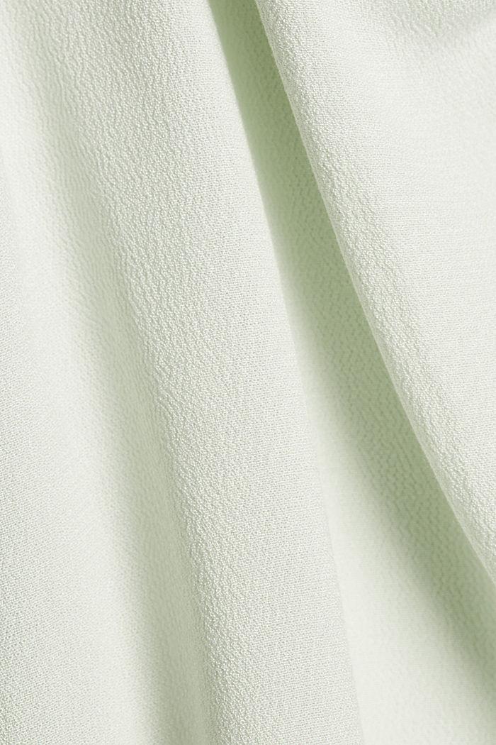 Trägertop mit Spitze aus  LENZING™ ECOVERO™, PASTEL GREEN, detail image number 4