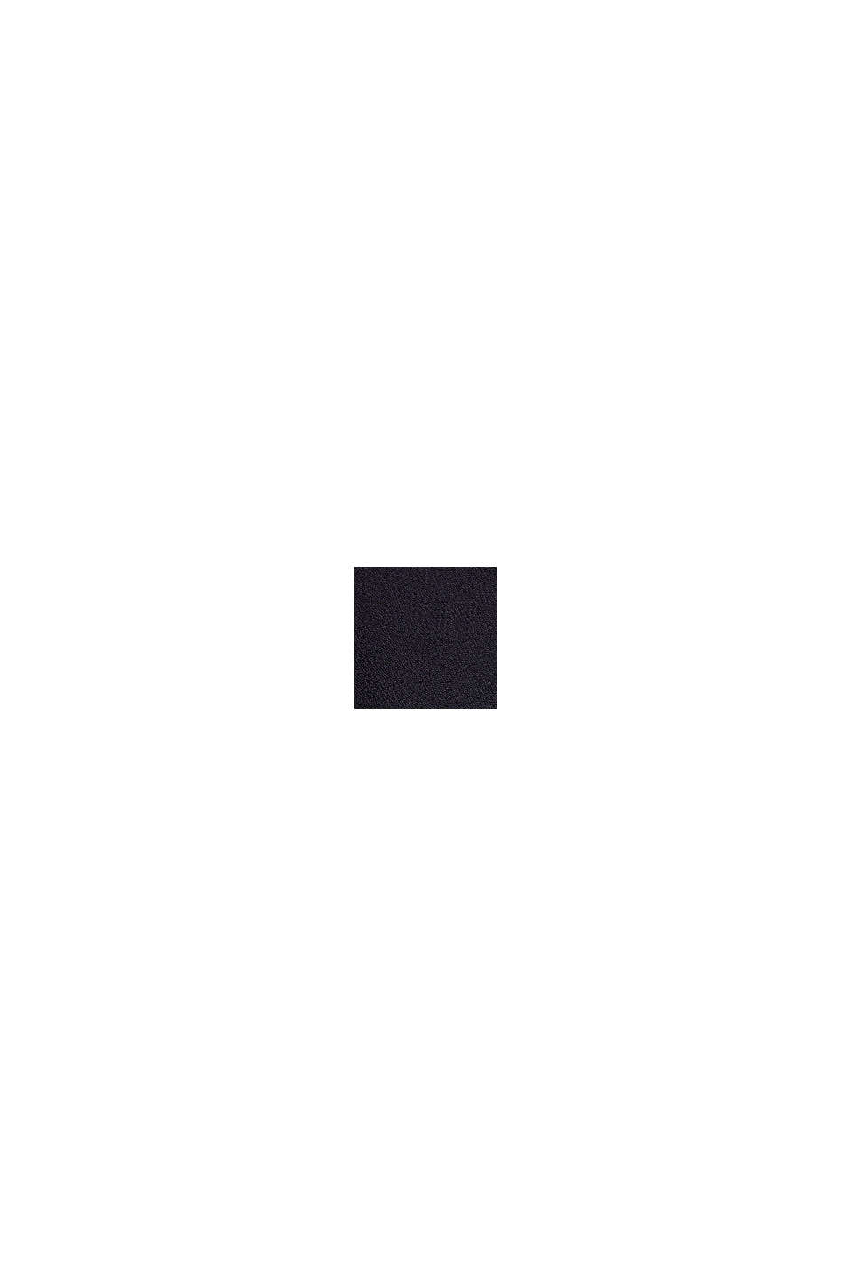 Blusentop mit Schleife, LENZING™ ECOVERO™, BLACK, swatch