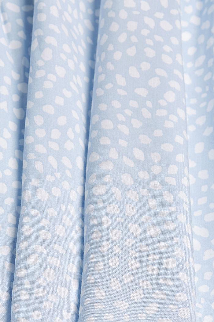 Bluse mit Biesen aus LENZING™ ECOVERO™, LIGHT BLUE LAVENDER, detail image number 4