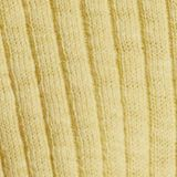 Cardigan en maille côtelée, coton biologique, LIGHT YELLOW, swatch