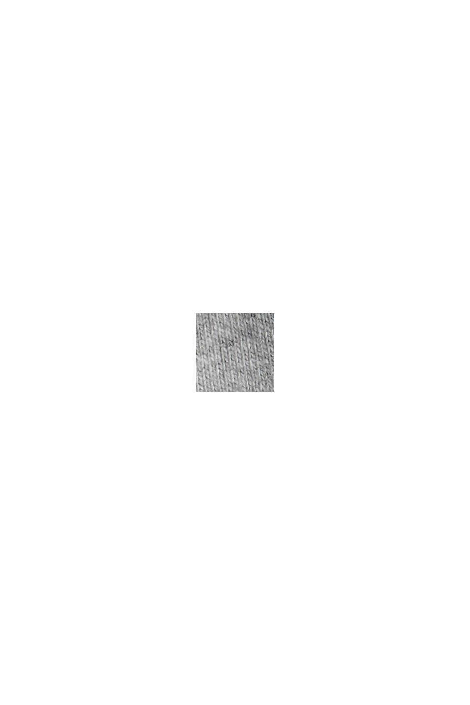 Sobrecamisa de felpa en mezcla de algodón, LIGHT GREY, swatch