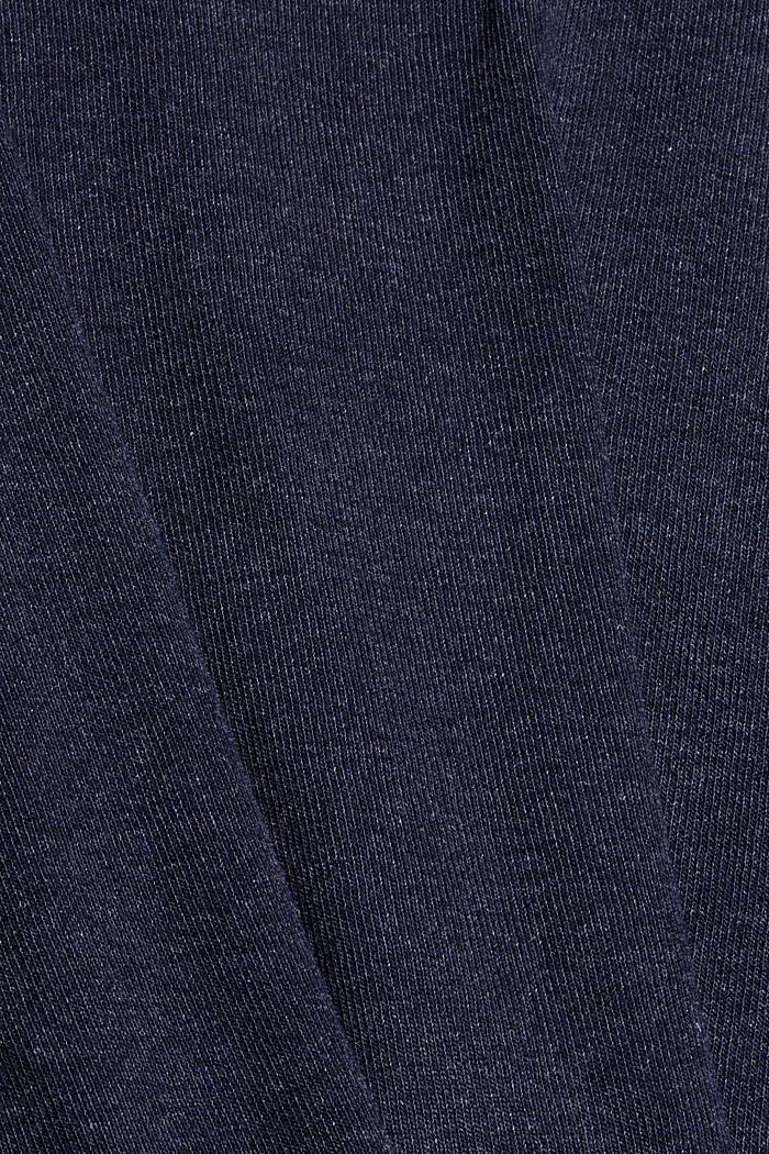 T-shirt made of TENCEL™ lyocell, NAVY, detail image number 4