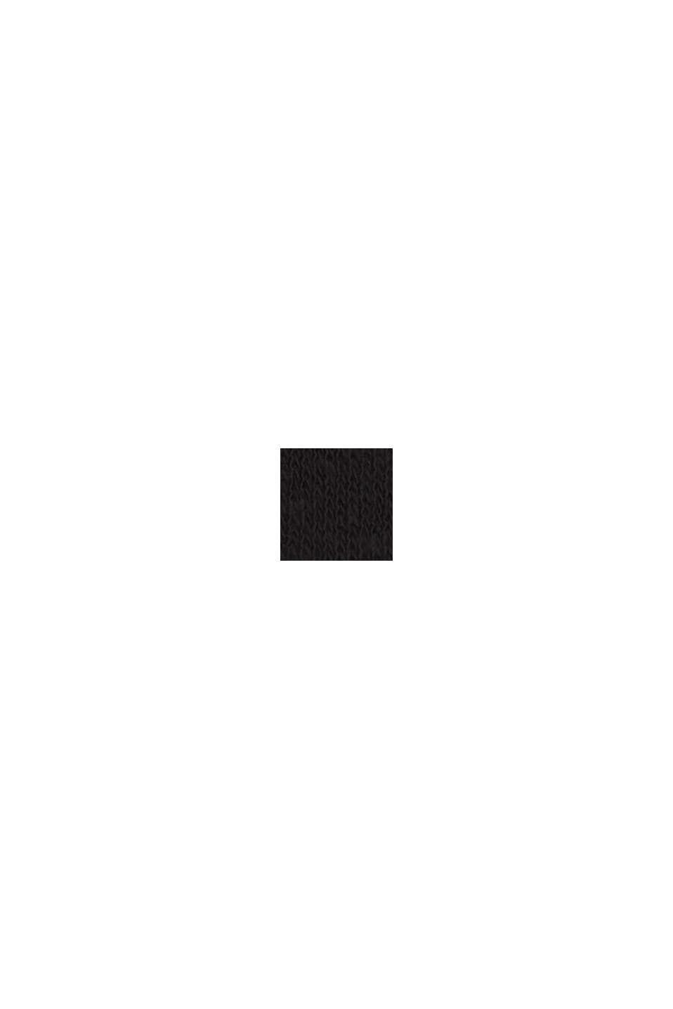 Sisältää pellavaa: napillinen T-paita, BLACK, swatch