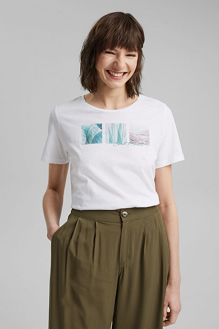 T-shirt with a photo print, 100% organic cotton