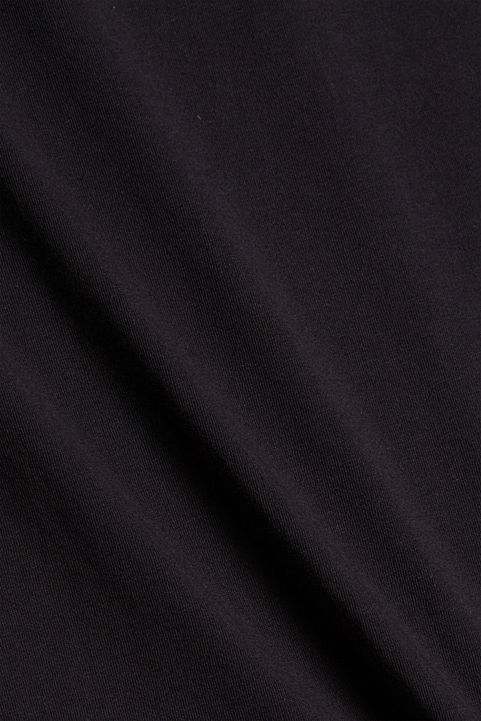 Painokuvioitu T-paita 100 % luomupuuvillaa, BLACK, detail image number 4