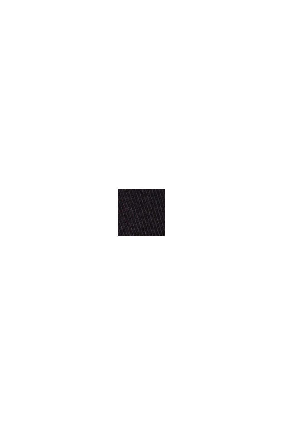 Print-T-Shirt aus 100% Bio-Baumwolle, BLACK, swatch