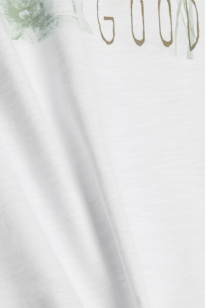 T-Shirts, WHITE, detail image number 4