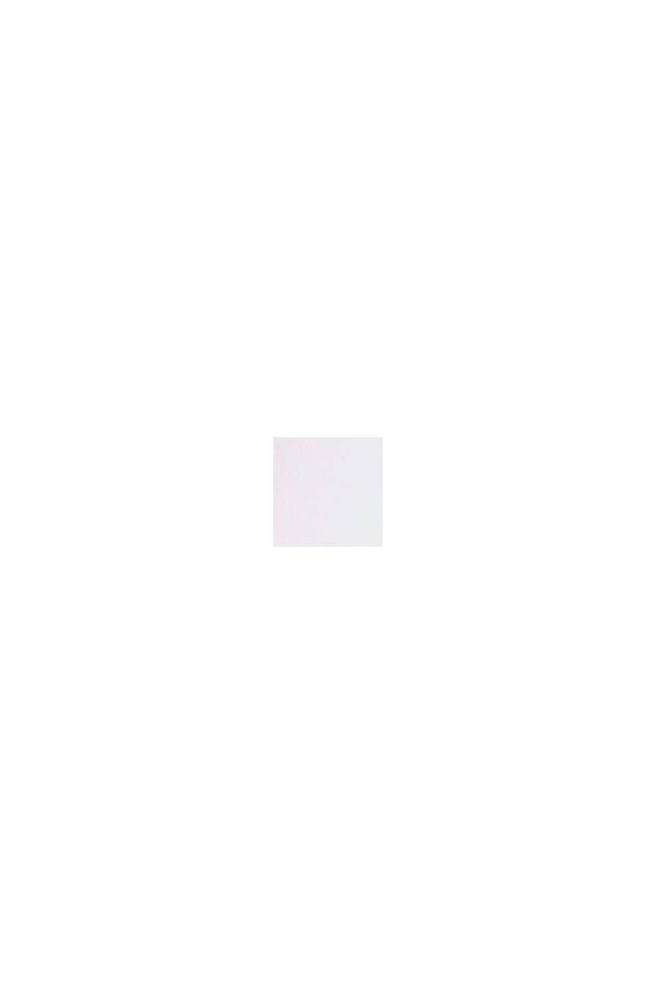 Jersey-Top mit Häkelspitze, Organic Cotton, WHITE, swatch