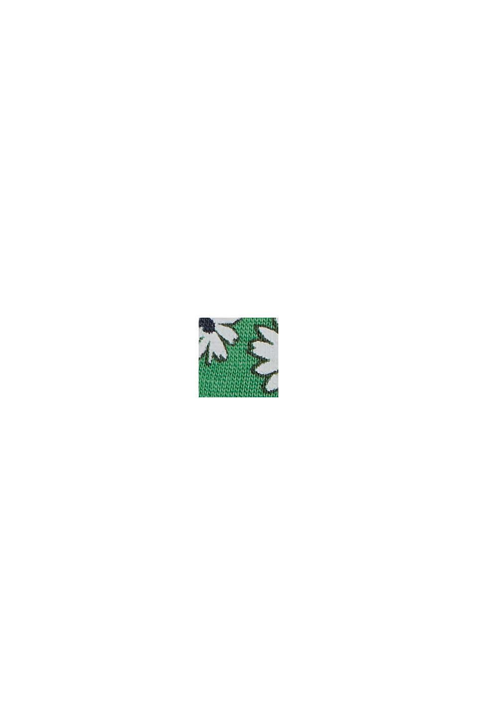 Millefleurs-tanktop, 100% biologisch katoen, GREEN, swatch