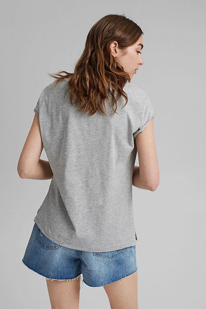 Tričko s potiskem, bio bavlna, LIGHT GREY, detail image number 3