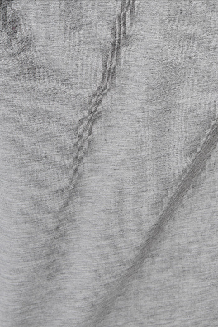 Tričko s potiskem, bio bavlna, LIGHT GREY, detail image number 4