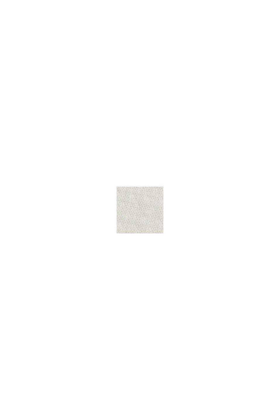 Overhemd met henley-hals, OFF WHITE, swatch