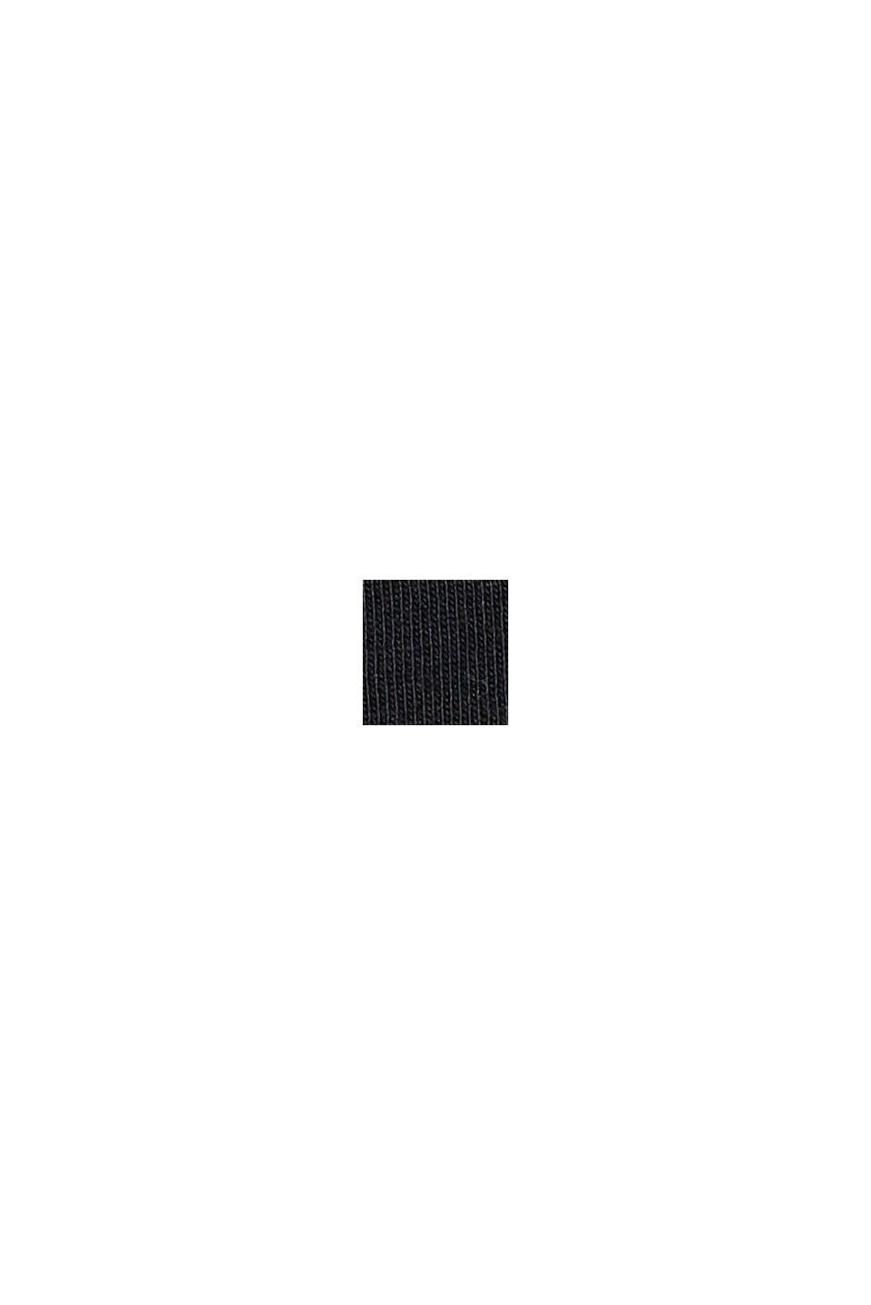 Print-Shirt aus 100% Organic Cotton, BLACK, swatch
