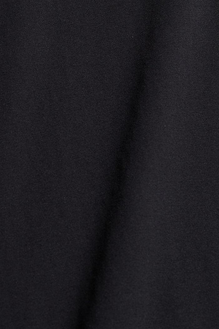 Potištěné tričko ze 100% bio bavlny, BLACK, detail image number 4