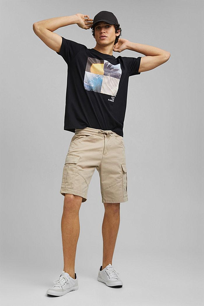 Print-Shirt aus 100% Organic Cotton