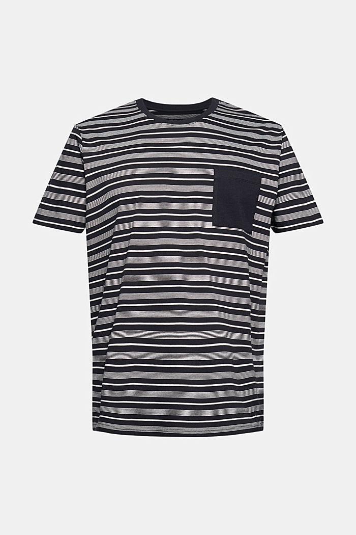 Jersey-T-Shirt aus 100% Organic Cotton, BLACK, detail image number 5