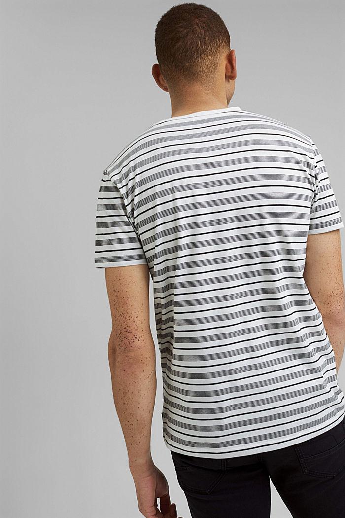 T-shirt en jersey, 100% coton bio, OFF WHITE, detail image number 3