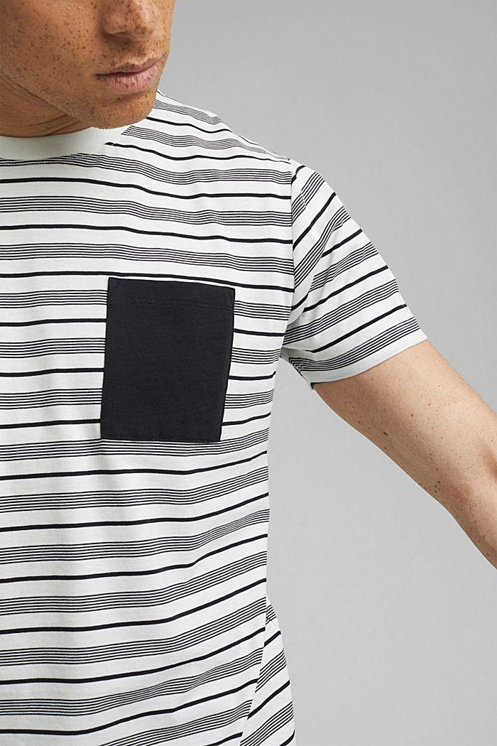 T-shirt en jersey, 100% coton bio, OFF WHITE, detail image number 1