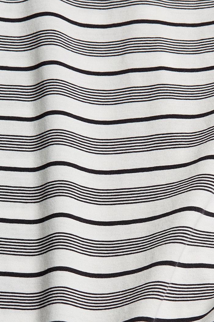 T-shirt en jersey, 100% coton bio, OFF WHITE, detail image number 4