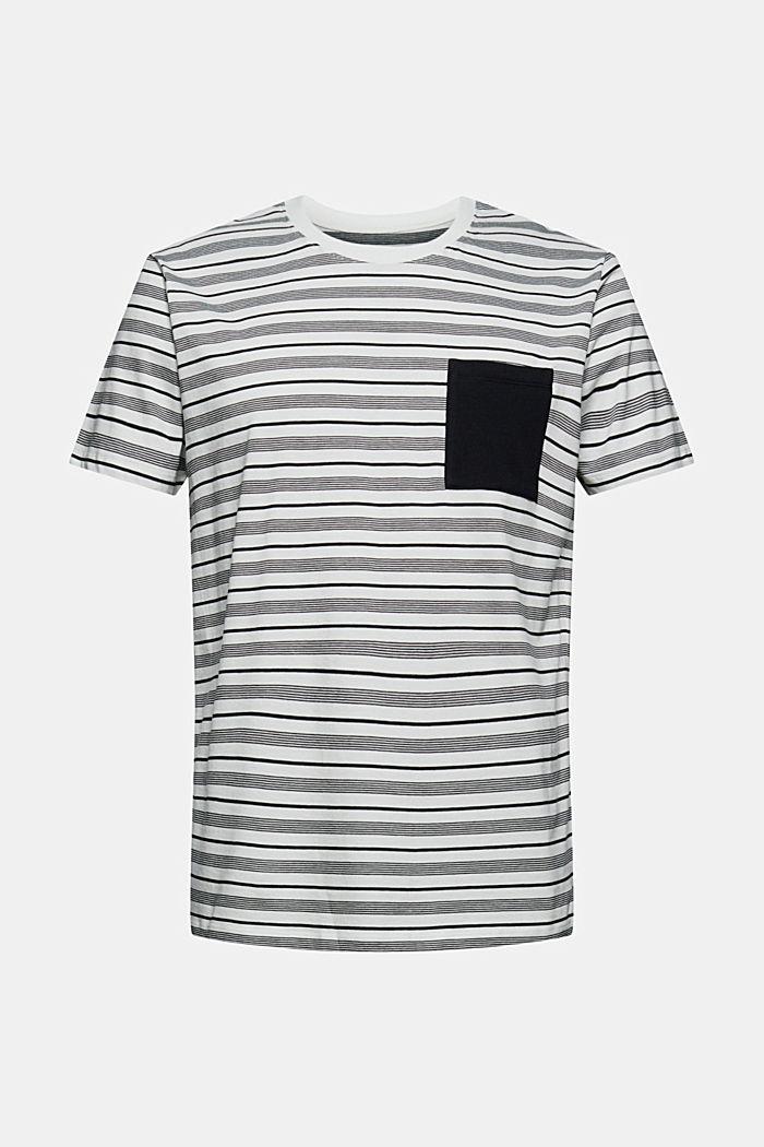 T-shirt en jersey, 100% coton bio, OFF WHITE, detail image number 6