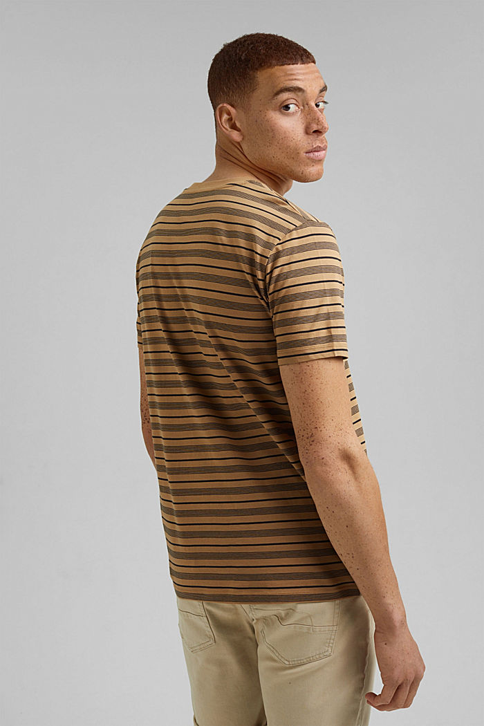 Jersey T-shirt van 100% organic cotton, CAMEL, detail image number 3