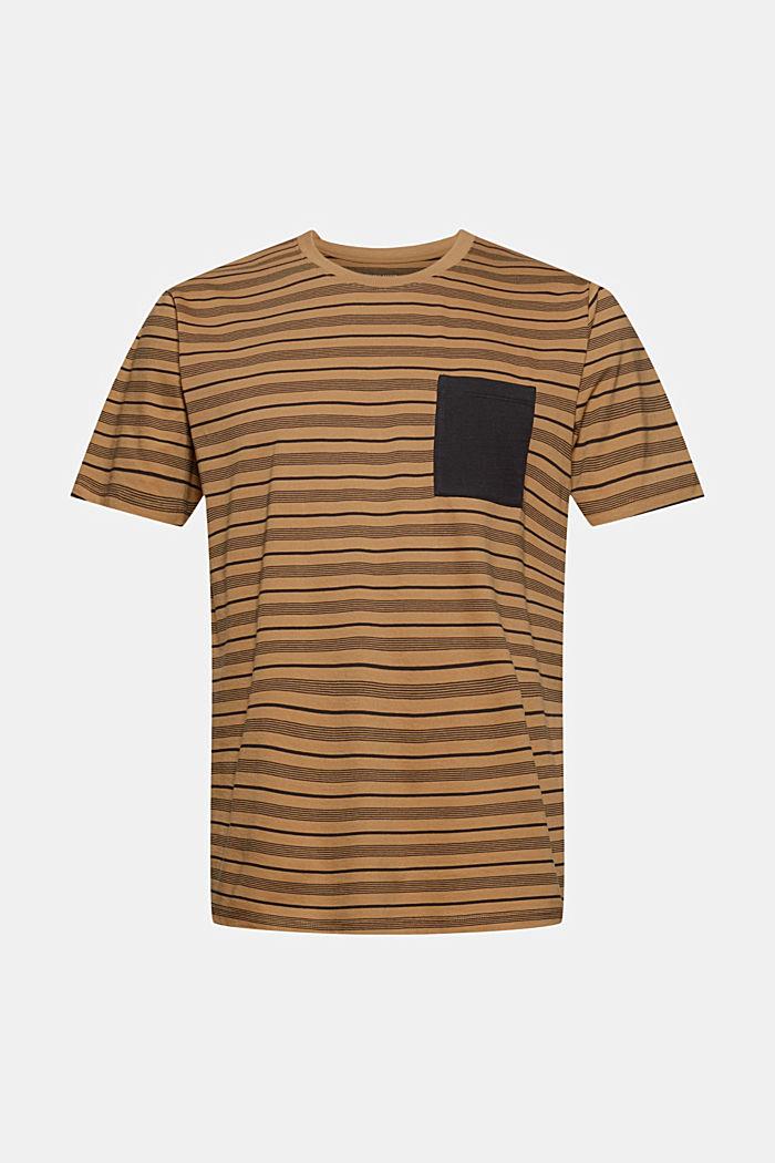 Jersey T-shirt van 100% organic cotton, CAMEL, detail image number 6