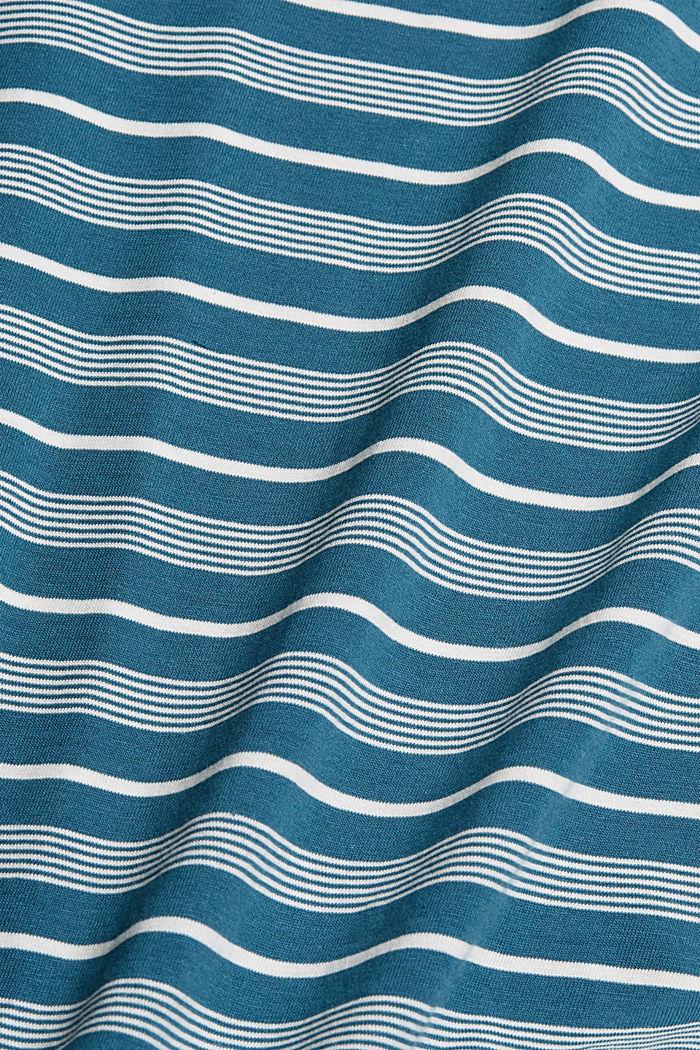 Jersey T-shirt van 100% organic cotton, PETROL BLUE, detail image number 4