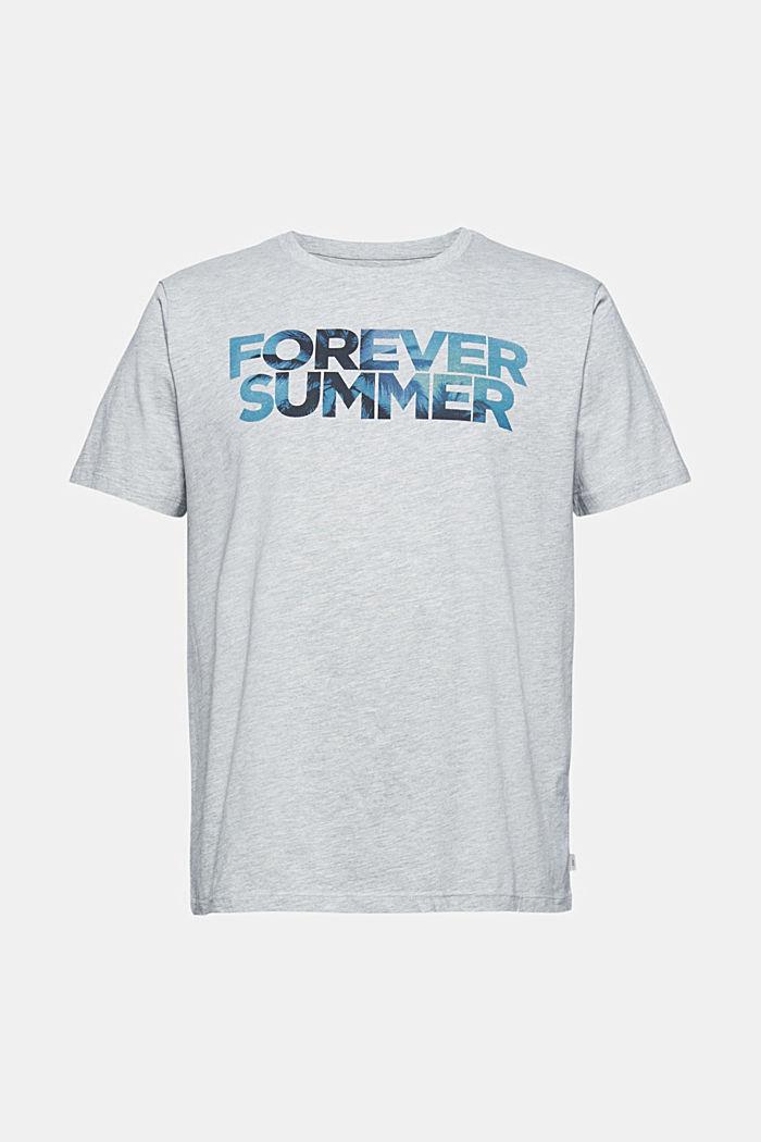 Jersey-T-Shirt mit Print, Organic Cotton