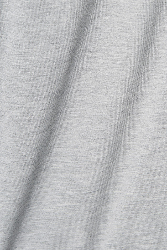 Jersey T-shirt with organic cotton, LIGHT GREY, detail image number 4