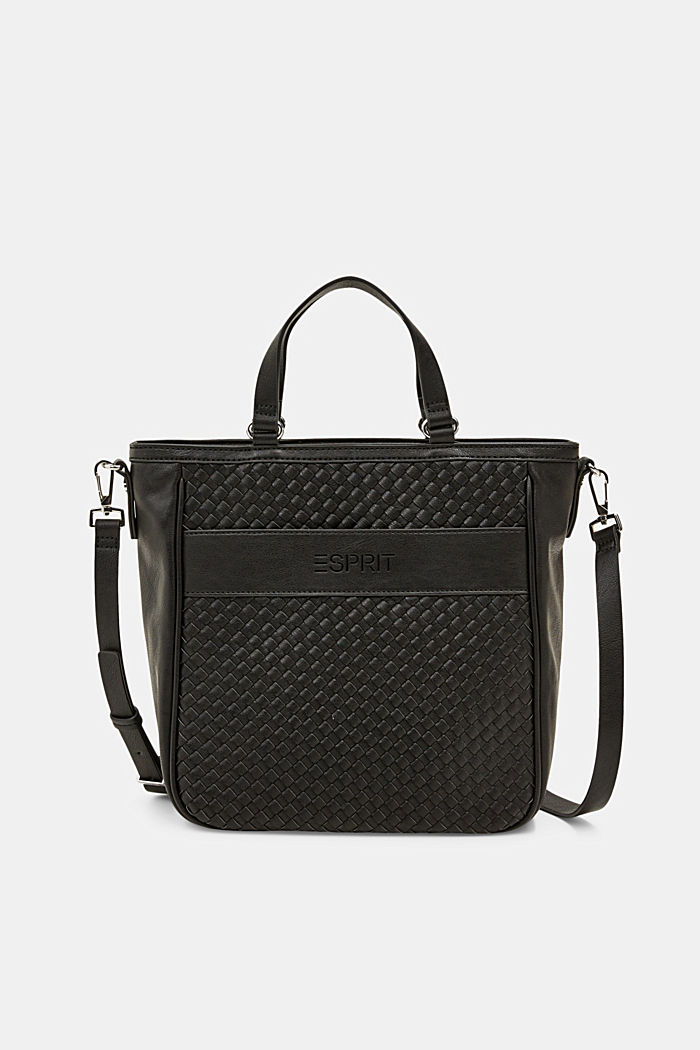 Vegan: braided shoulder bag