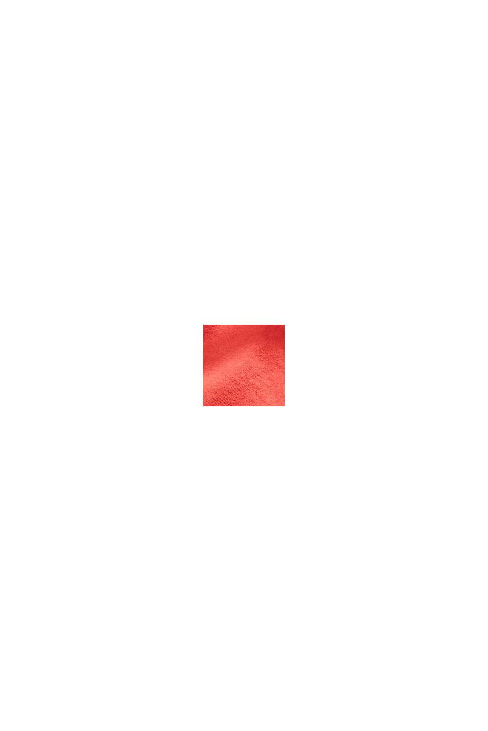 Cabas réversible en toile doté d'une pochette, ORANGE RED, swatch