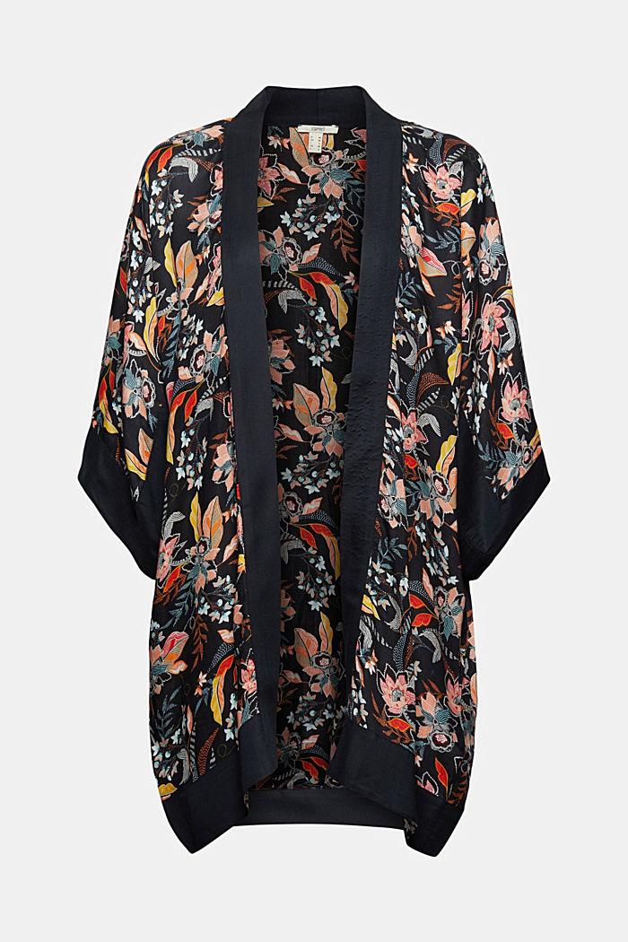 Kimono with a print made of TENCEL™ modal