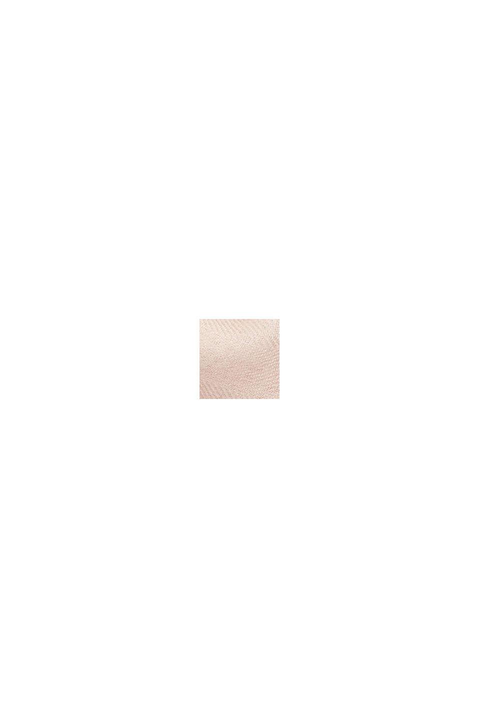 Aus TENCEL™/Wolle: Schal mit Color Block, LIGHT PINK, swatch