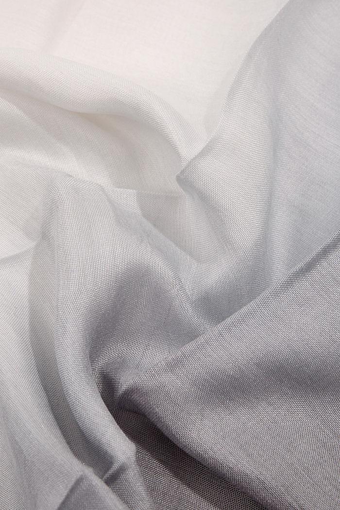 Mit Seide: Tuch mit Farbverlauf, GREY, detail image number 2