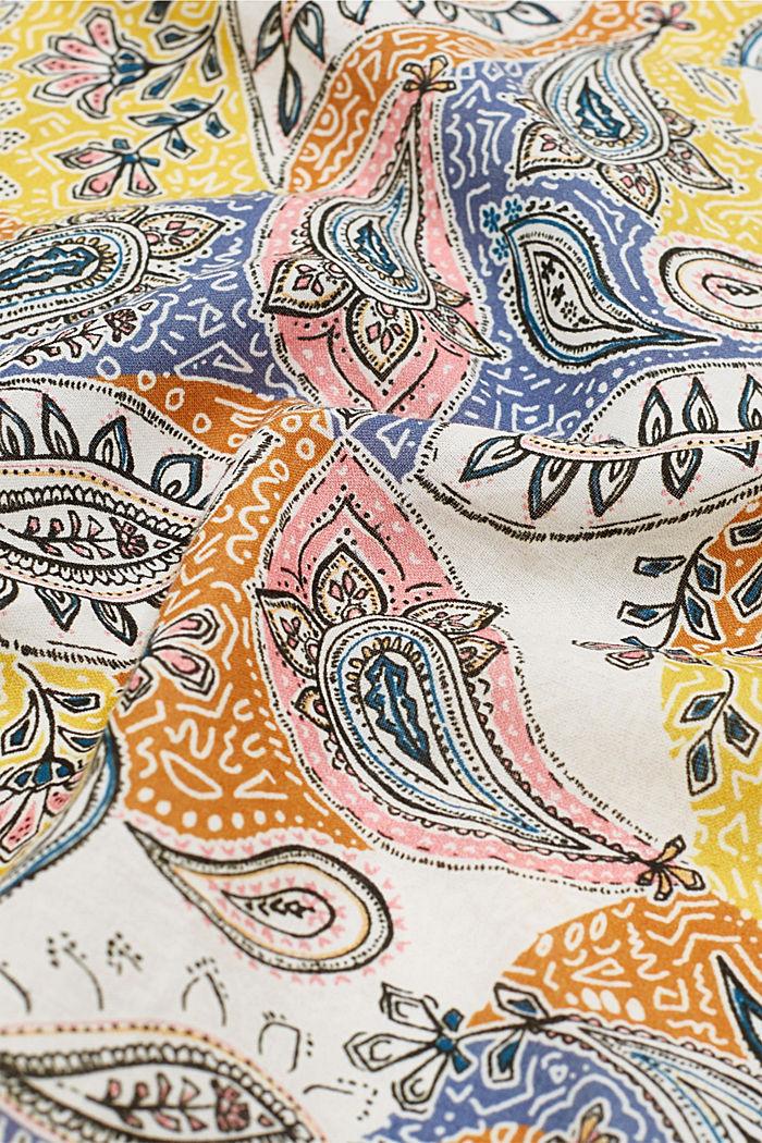 Šátek s potiskem, 100% bio bavlna, LIGHT BEIGE, detail image number 2