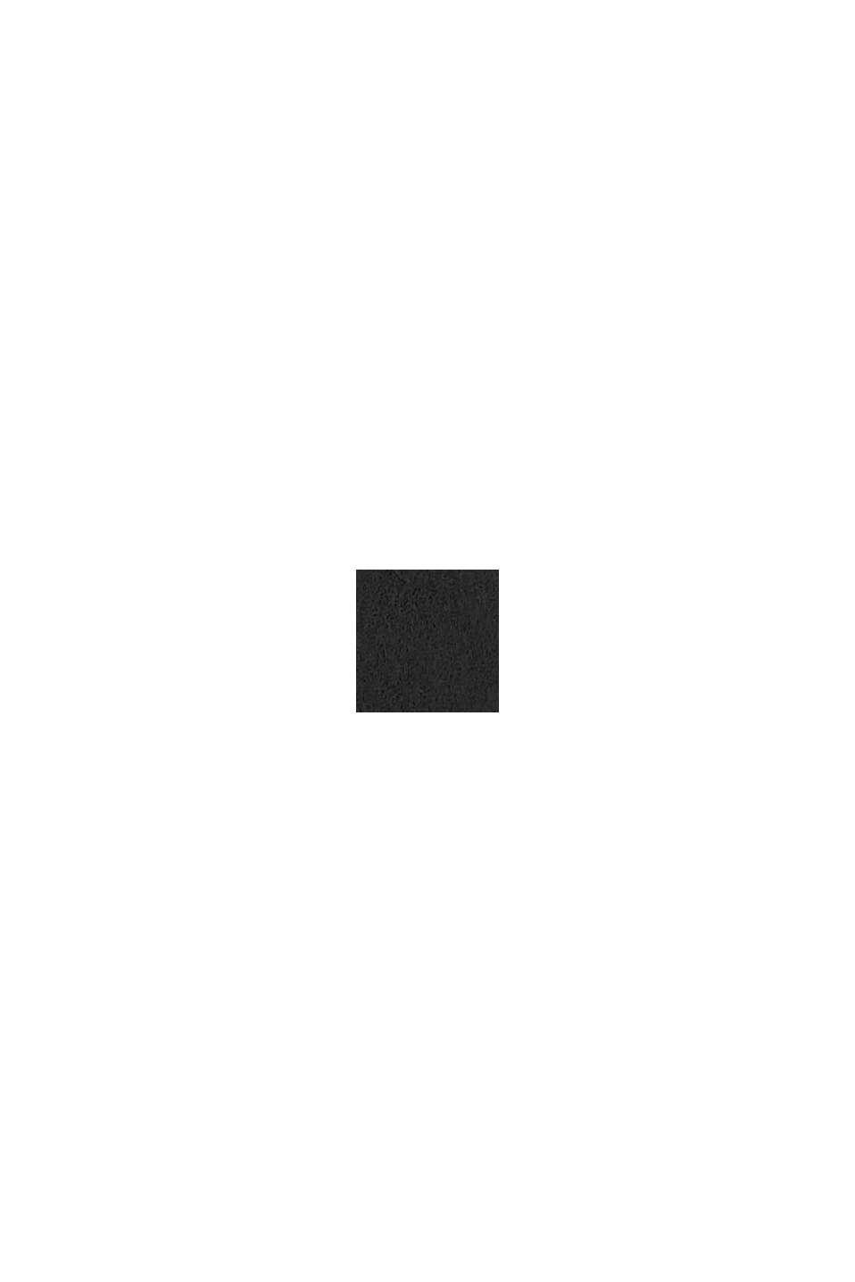 Van leer: brede riem met studs, BLACK, swatch